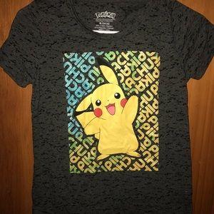 Kids pikachu shirt